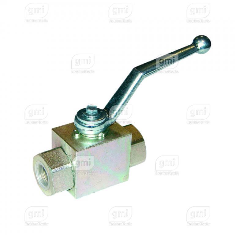 vanne à sphère hydraulique