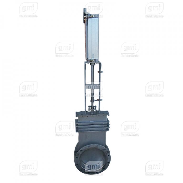 Vanne à guillotine Haute température