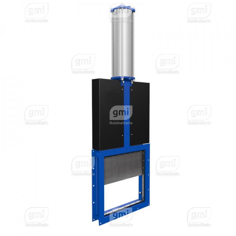 Vanne à guillotine mécano-soudée