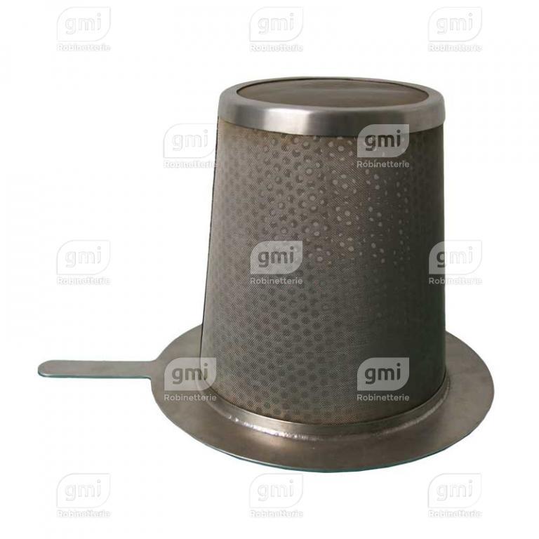 filtre tronconique provisoire