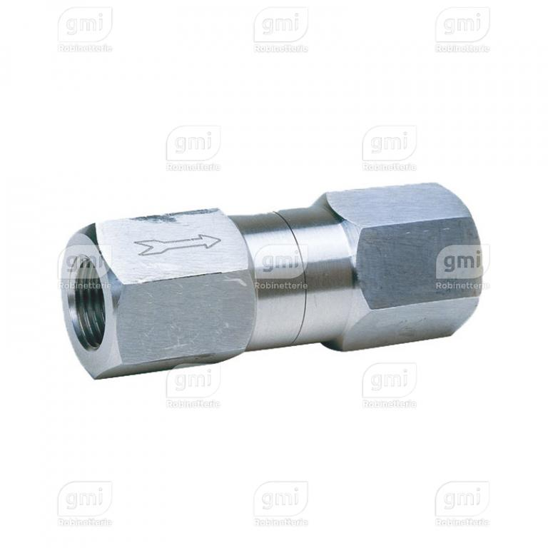 Clapet à bille/piston Inox